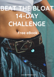14 day Beat the Bloat Challenge cover version